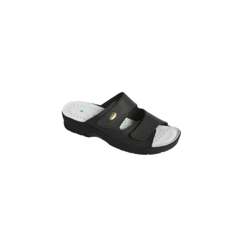 Viviana fekete komfortpapucs